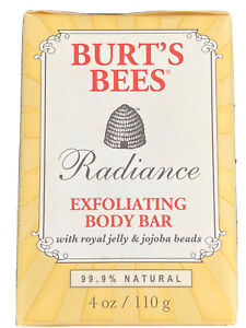 TWO Burt's Bees Radiance Exfoliating Body Bars 4 oz Discontinued