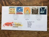 Gb First Day Cover 1995 Peace And Freedom London Pmk