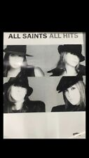 ALL SAINTS ALL HITS RECORD SHOP PROMOTIONAL POSTER