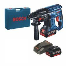 Bosch Akku-Bohrhammer GBH 18V-20 + 2 x 5,0-Ah-Akku + Ladegerät im Koffer