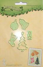 Lecrea « Multi Die Cutter, Navidad Adornos, Manualidades, hacer la tarjeta, Ref 0850