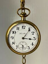 21j, 1912, Running, with Fob! Antique Hamilton 992 Railroad Pocket Watch,
