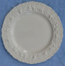Sale! Wedgwood Queensware Cream on Cream Shell Edge Bread & Butter Plates Exc!