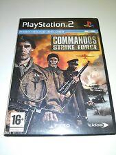 COMMANDOS STRIKE FORCE  PLAY STATION 2 PAL SLES 52768