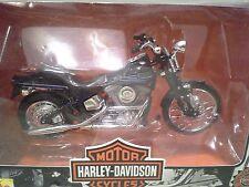 Harley Davidson FXSTSB Bad Boy Maisto 1/18 Diecast Motorcycle Series 1