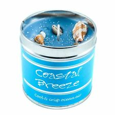 Best Kept Secret Seriously Scented Coastal Breeze Highly Fragranced Tin Candle