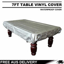 7FT POOL TABLE SILVER COVER WATERPROOF FREE DELIVERY