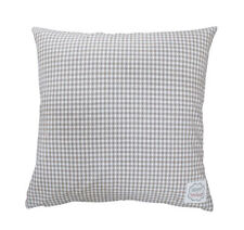 Krasilnikoff Kissenbezug Medium Checkered Taupe
