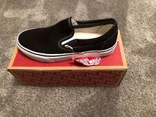 Mens Vans Classic Slip On Black Size 9