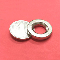 Lots D25mm x 4mm Round Ring Rare Earth Neodymium N50 Craft Magnets Hole:13mm