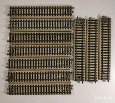 Ech HO: 10 RAILS DROITS MARKLIN 5106