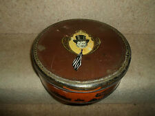 The College Boy W M Livens & Co Chocolate Ginger Tin ~ Vintage Retro EMPTY