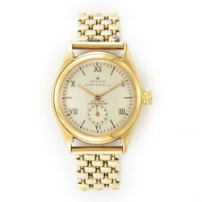 Rare Ladies 18k Gold Rolex Bubble back Watch Oyster Perpetual Certified Chrono