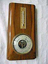 mechanische Wetterstation Barigo Barometer Thermometer VINTAGE 50er JAHRE