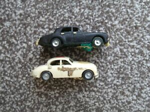 Triang Minic Motorway Cars Jaguar and could Rolls Royce. spares / dustbin