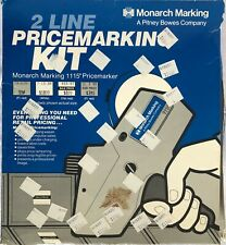 Monarch Marking 2 Line Pricemarking Kit 1115 Pricemarker w/ Assorted Labels, Ink