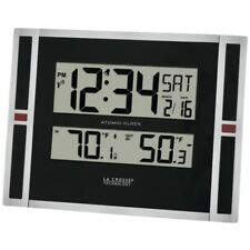IN/OUTDOOR THERMO W CLOCK