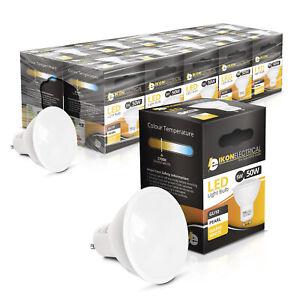 GU10 LED BULBS WARM WHITE 5W 10pk LED Energy Saving Light Bulb Spotlight Cob