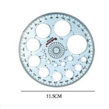 Détecteur d'angle de rapporteur en plastique à cercle complet 360 degrés R X4R