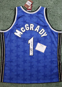 Tracy McGrady Autographed Orlando Magic M&N Swingman Jersey HOF 17 Fanatics