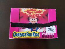 "1985 Topps Garbage Pail Kids Series 1 Wax Box **Adam Bomb INCLUDED**"" UK Ireland"