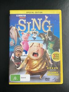 GREAT DVD SALE ** SING (SPECIAL EDITION)(104MINS)(R4)(GC) **
