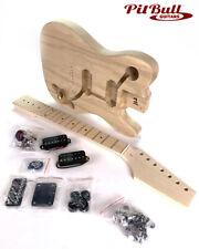 Pit Bull Guitars DTL-7 7 String Electric Guitar Kit (American Ash Body)