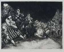 HUBERTUS GIEBE - Zu Günter Grass - Blechtrommel: Die Puppe - Radierung 1983