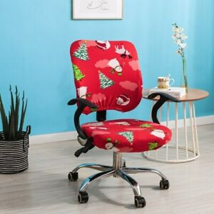 Office Chair Covers Elastic Dustproof Rotating Lift Computer Chair Silpcover 1pc
