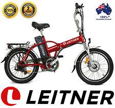 NEW Leitner FOLDING Electric Bike Ebike Bicycle 250W 10Ah Lithium Straight-Bar