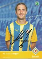 Markus Unger - Eintracht Braunschweig - Saison 2010/2011 - Autogrammkarte