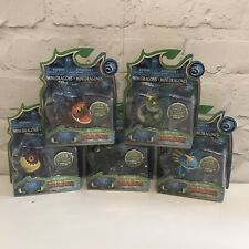 How To Train Your Dragon - Mini Dragons - Colour Changing Figures x5