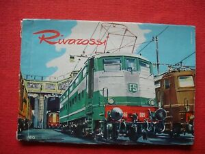 Rare Vintage RIVAROSSI 1960 Catalogue Model Railway Guide Trains & Price List