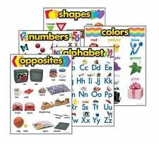 Las competencias básicas Combo Pack - 5 duradero y reutilizables escuela aprendizaje en el aula Carteles