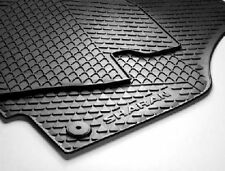 GENUINE VOLKSWAGEN SHARAN RUBBER MATS (FULL SET,FRONT,MID & REAR) 7N2061501041