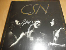 NEIL YOUNG/CROSBY STILLS NASH YOUNG SIGNED LP X 4 PROOF + COA! CSNY VERY RARE!