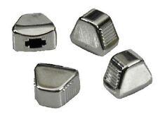 1967-1979  Chev Nova Heater A/C Vent Selector Temp Control Knob Set of 4, CHROME