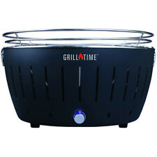 Lotus Grill Grill Time Tailgater GTX (XL) Starter Pack-Gray Grill, Charcoal & Mo