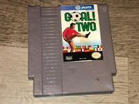 Goal Two 2 Nintendo Nes Cleaned & Tested Authentic