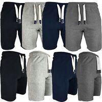 """Mens Jersey Summer Jogger Jersey Jogging Shorts Sweat Fleece Short S-XXL """"232"""""""