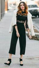 Womens Zara Lace Sleeve Jumpsuit size s