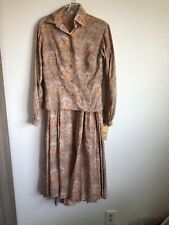 VTG MGM Studio Prairie Woman Dress Long Skirt Top 1800s 1900s 1910s Costume S
