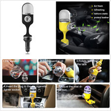 360°Rotation ABS Car Humidifier Air Purifier Freshener With 5V/2.1A Dual Charger