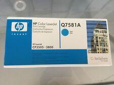 Genuine HP Q7581A Cyan LaserJet Toner Cartridge 503a