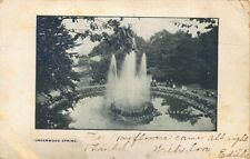 Falmouth Foreside ME Underwood Spring in 1908 Postcard