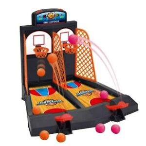 Basketball Shooting Game 2-Player Desktop Table Arcade Games Basketball Hoop Set
