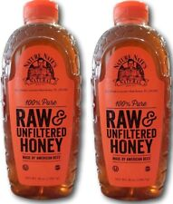 Nature Nate's 100% Pure Raw and Unfiltered Honey 44 Ounce 2 count