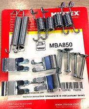 TOYOTA COROLLA E12 (2001-2007) HANDBRAKE SHOE FITTING KIT SPRINGS MBA 850