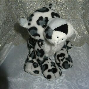 Ganz Webkinz Snow Leopard HM378 USED spotted cat