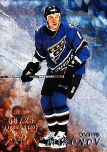 1998-99 Be A Player Spring Expo #295 Dmitri Mironov
